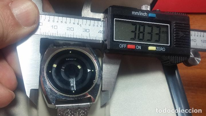 Relojes automáticos: RARO y EXCLUSIVO RELOJ SANDOZ MISTERIO, AUTOMATICO DE 25 JEWELS del año 1972 - Foto 14 - 109487903