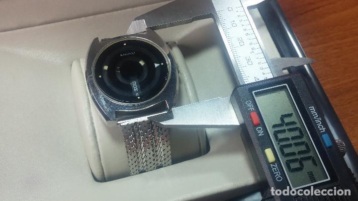 Relojes automáticos: RARO y EXCLUSIVO RELOJ SANDOZ MISTERIO, AUTOMATICO DE 25 JEWELS del año 1972 - Foto 15 - 109487903