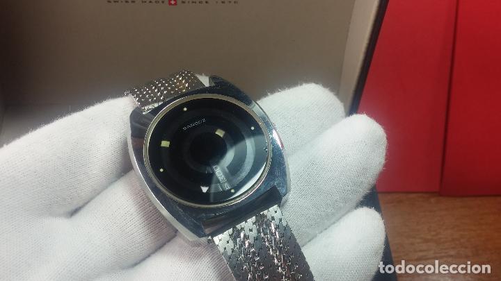 Relojes automáticos: RARO y EXCLUSIVO RELOJ SANDOZ MISTERIO, AUTOMATICO DE 25 JEWELS del año 1972 - Foto 22 - 109487903