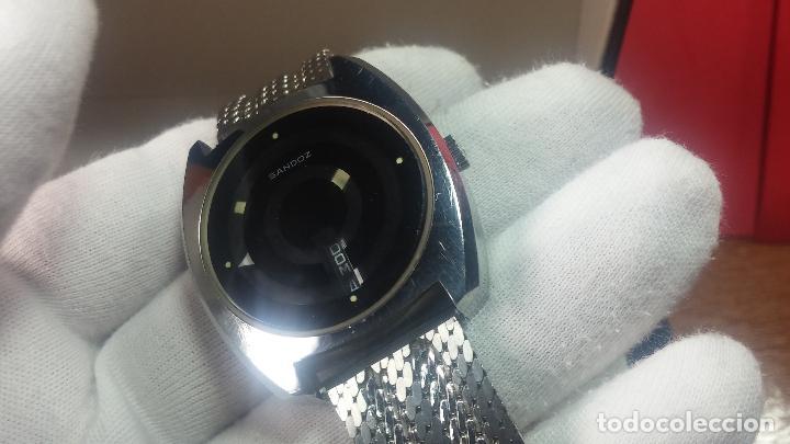 Relojes automáticos: RARO y EXCLUSIVO RELOJ SANDOZ MISTERIO, AUTOMATICO DE 25 JEWELS del año 1972 - Foto 24 - 109487903