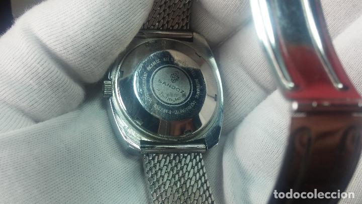 Relojes automáticos: RARO y EXCLUSIVO RELOJ SANDOZ MISTERIO, AUTOMATICO DE 25 JEWELS del año 1972 - Foto 26 - 109487903