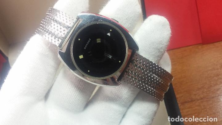 Relojes automáticos: RARO y EXCLUSIVO RELOJ SANDOZ MISTERIO, AUTOMATICO DE 25 JEWELS del año 1972 - Foto 30 - 109487903