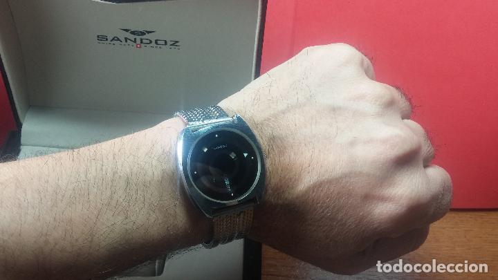 Relojes automáticos: RARO y EXCLUSIVO RELOJ SANDOZ MISTERIO, AUTOMATICO DE 25 JEWELS del año 1972 - Foto 35 - 109487903