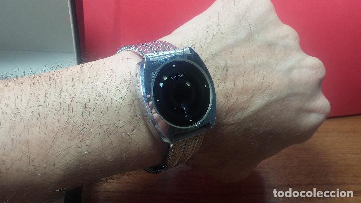 Relojes automáticos: RARO y EXCLUSIVO RELOJ SANDOZ MISTERIO, AUTOMATICO DE 25 JEWELS del año 1972 - Foto 40 - 109487903