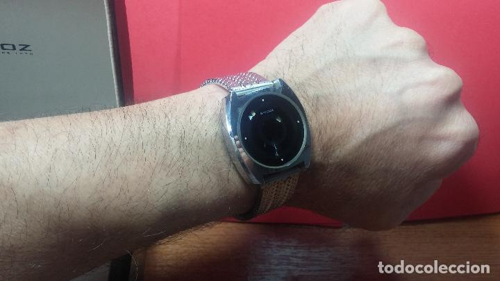 Relojes automáticos: RARO y EXCLUSIVO RELOJ SANDOZ MISTERIO, AUTOMATICO DE 25 JEWELS del año 1972 - Foto 41 - 109487903