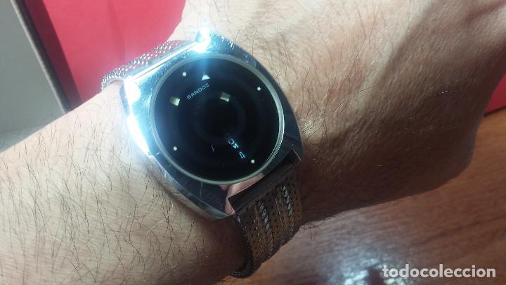 Relojes automáticos: RARO y EXCLUSIVO RELOJ SANDOZ MISTERIO, AUTOMATICO DE 25 JEWELS del año 1972 - Foto 46 - 109487903