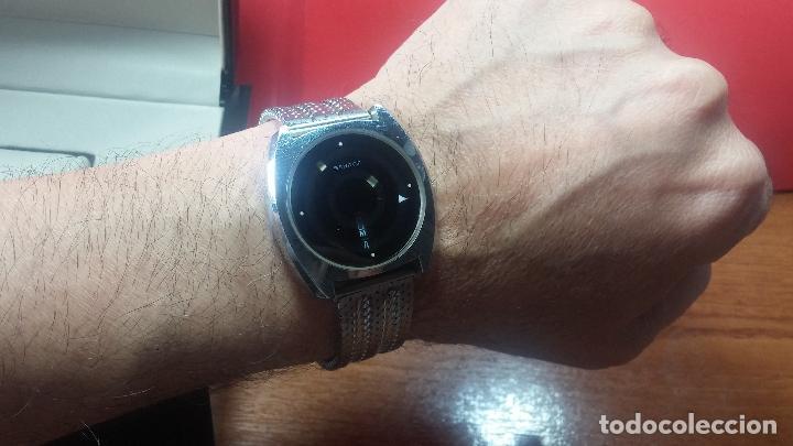 Relojes automáticos: RARO y EXCLUSIVO RELOJ SANDOZ MISTERIO, AUTOMATICO DE 25 JEWELS del año 1972 - Foto 47 - 109487903