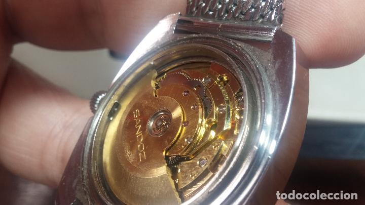 Relojes automáticos: RARO y EXCLUSIVO RELOJ SANDOZ MISTERIO, AUTOMATICO DE 25 JEWELS del año 1972 - Foto 53 - 109487903