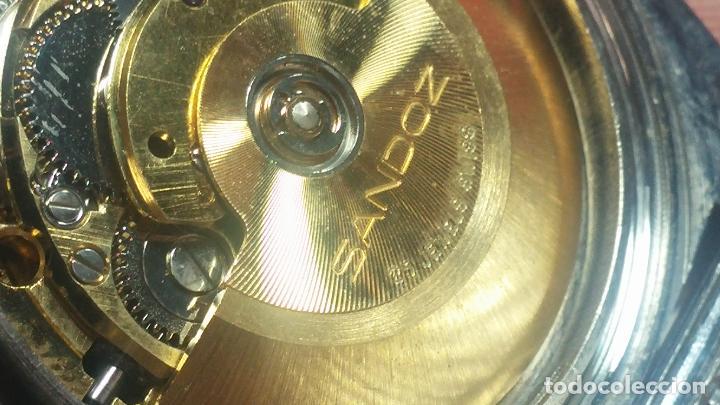 Relojes automáticos: RARO y EXCLUSIVO RELOJ SANDOZ MISTERIO, AUTOMATICO DE 25 JEWELS del año 1972 - Foto 54 - 109487903