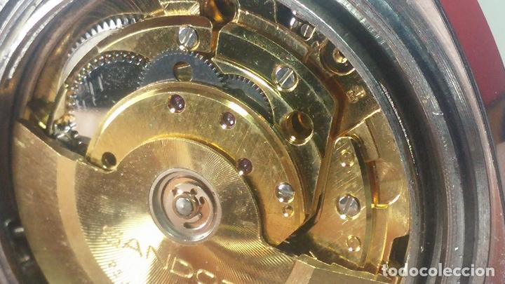 Relojes automáticos: RARO y EXCLUSIVO RELOJ SANDOZ MISTERIO, AUTOMATICO DE 25 JEWELS del año 1972 - Foto 55 - 109487903