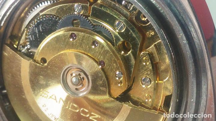 Relojes automáticos: RARO y EXCLUSIVO RELOJ SANDOZ MISTERIO, AUTOMATICO DE 25 JEWELS del año 1972 - Foto 56 - 109487903