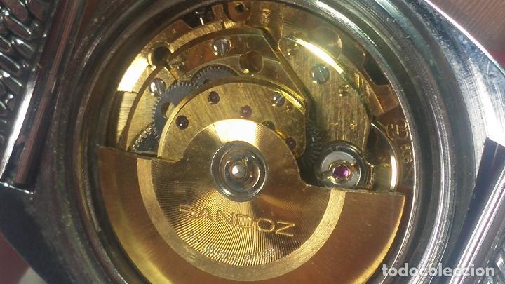 Relojes automáticos: RARO y EXCLUSIVO RELOJ SANDOZ MISTERIO, AUTOMATICO DE 25 JEWELS del año 1972 - Foto 59 - 109487903