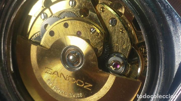 Relojes automáticos: RARO y EXCLUSIVO RELOJ SANDOZ MISTERIO, AUTOMATICO DE 25 JEWELS del año 1972 - Foto 60 - 109487903