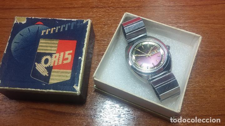Relojes automáticos: Reloj de caballero automático ORIS del año 1975, del escaso calibre 648, un bellezón de reloj. - Foto 2 - 110062231
