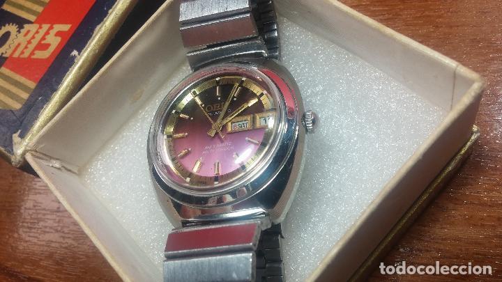 Relojes automáticos: Reloj de caballero automático ORIS del año 1975, del escaso calibre 648, un bellezón de reloj. - Foto 3 - 110062231