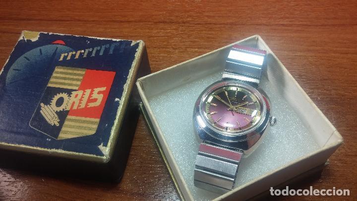 Relojes automáticos: Reloj de caballero automático ORIS del año 1975, del escaso calibre 648, un bellezón de reloj. - Foto 5 - 110062231