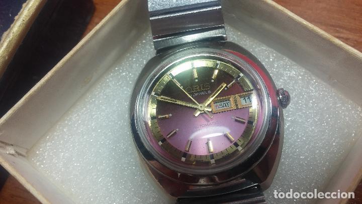 Relojes automáticos: Reloj de caballero automático ORIS del año 1975, del escaso calibre 648, un bellezón de reloj. - Foto 6 - 110062231