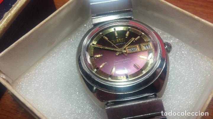 Relojes automáticos: Reloj de caballero automático ORIS del año 1975, del escaso calibre 648, un bellezón de reloj. - Foto 7 - 110062231
