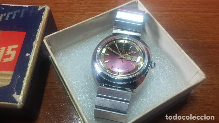 Relojes automáticos: Reloj de caballero automático ORIS del año 1975, del escaso calibre 648, un bellezón de reloj. - Foto 8 - 110062231