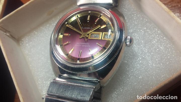 Relojes automáticos: Reloj de caballero automático ORIS del año 1975, del escaso calibre 648, un bellezón de reloj. - Foto 10 - 110062231