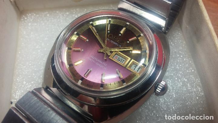 Relojes automáticos: Reloj de caballero automático ORIS del año 1975, del escaso calibre 648, un bellezón de reloj. - Foto 11 - 110062231