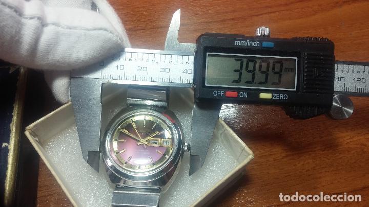 Relojes automáticos: Reloj de caballero automático ORIS del año 1975, del escaso calibre 648, un bellezón de reloj. - Foto 12 - 110062231