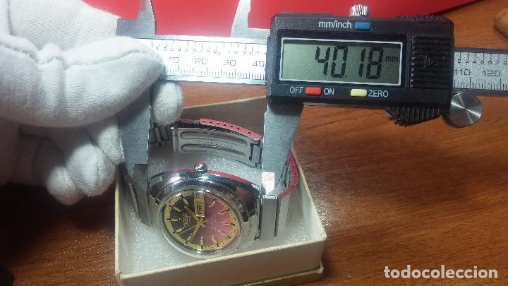 Relojes automáticos: Reloj de caballero automático ORIS del año 1975, del escaso calibre 648, un bellezón de reloj. - Foto 13 - 110062231