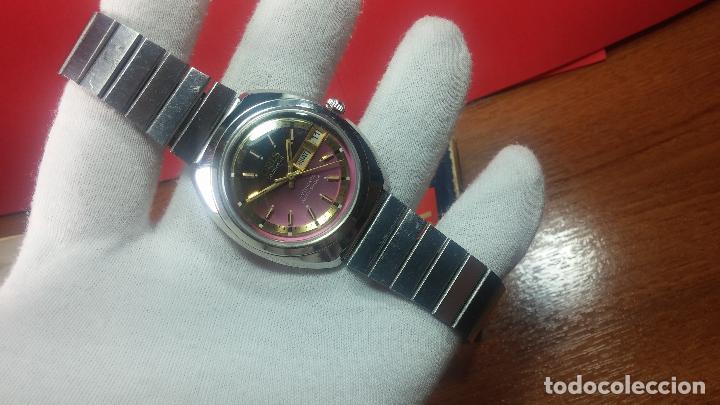 Relojes automáticos: Reloj de caballero automático ORIS del año 1975, del escaso calibre 648, un bellezón de reloj. - Foto 16 - 110062231