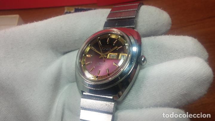 Relojes automáticos: Reloj de caballero automático ORIS del año 1975, del escaso calibre 648, un bellezón de reloj. - Foto 17 - 110062231