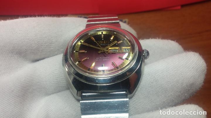 Relojes automáticos: Reloj de caballero automático ORIS del año 1975, del escaso calibre 648, un bellezón de reloj. - Foto 18 - 110062231