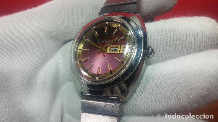 Relojes automáticos: Reloj de caballero automático ORIS del año 1975, del escaso calibre 648, un bellezón de reloj. - Foto 19 - 110062231