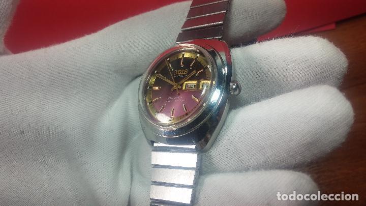 Relojes automáticos: Reloj de caballero automático ORIS del año 1975, del escaso calibre 648, un bellezón de reloj. - Foto 20 - 110062231