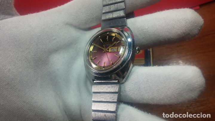 Relojes automáticos: Reloj de caballero automático ORIS del año 1975, del escaso calibre 648, un bellezón de reloj. - Foto 23 - 110062231