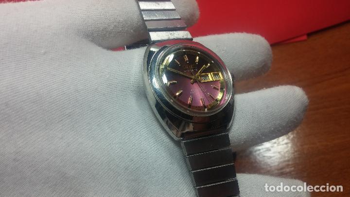 Relojes automáticos: Reloj de caballero automático ORIS del año 1975, del escaso calibre 648, un bellezón de reloj. - Foto 24 - 110062231