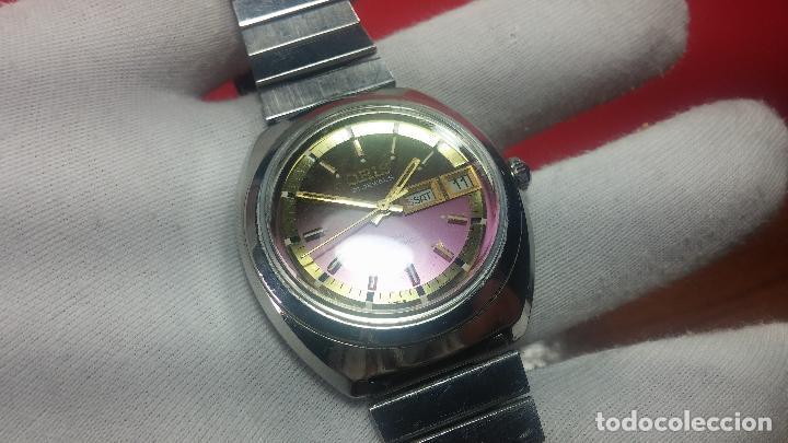 Relojes automáticos: Reloj de caballero automático ORIS del año 1975, del escaso calibre 648, un bellezón de reloj. - Foto 25 - 110062231