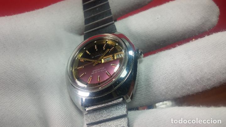 Relojes automáticos: Reloj de caballero automático ORIS del año 1975, del escaso calibre 648, un bellezón de reloj. - Foto 26 - 110062231