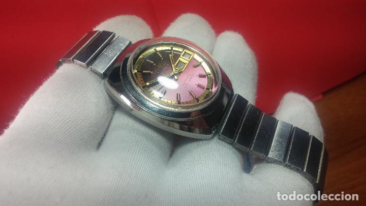 Relojes automáticos: Reloj de caballero automático ORIS del año 1975, del escaso calibre 648, un bellezón de reloj. - Foto 27 - 110062231