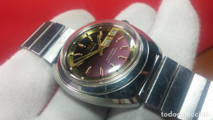 Relojes automáticos: Reloj de caballero automático ORIS del año 1975, del escaso calibre 648, un bellezón de reloj. - Foto 28 - 110062231