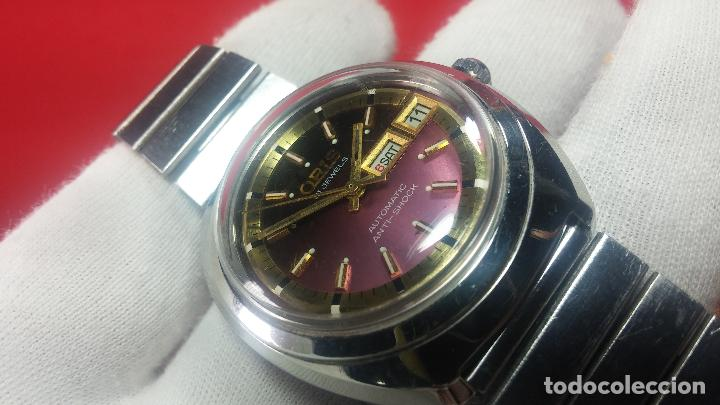 Relojes automáticos: Reloj de caballero automático ORIS del año 1975, del escaso calibre 648, un bellezón de reloj. - Foto 29 - 110062231