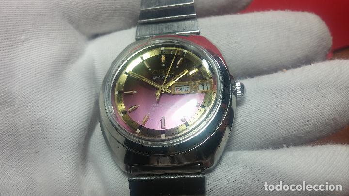 Relojes automáticos: Reloj de caballero automático ORIS del año 1975, del escaso calibre 648, un bellezón de reloj. - Foto 31 - 110062231