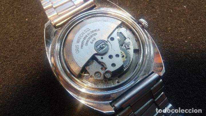 Relojes automáticos: Reloj de caballero automático ORIS del año 1975, del escaso calibre 648, un bellezón de reloj. - Foto 32 - 110062231