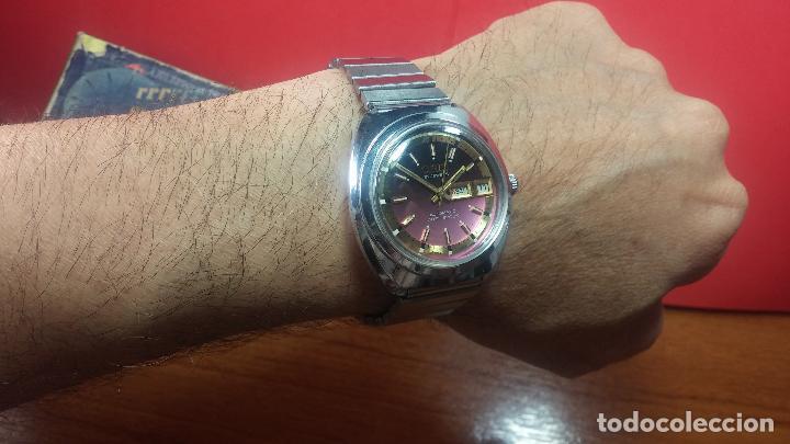 Relojes automáticos: Reloj de caballero automático ORIS del año 1975, del escaso calibre 648, un bellezón de reloj. - Foto 36 - 110062231