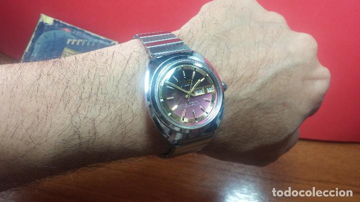 Relojes automáticos: Reloj de caballero automático ORIS del año 1975, del escaso calibre 648, un bellezón de reloj. - Foto 37 - 110062231