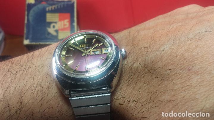 Relojes automáticos: Reloj de caballero automático ORIS del año 1975, del escaso calibre 648, un bellezón de reloj. - Foto 42 - 110062231
