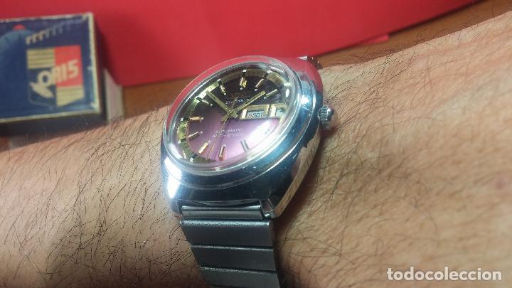 Relojes automáticos: Reloj de caballero automático ORIS del año 1975, del escaso calibre 648, un bellezón de reloj. - Foto 43 - 110062231