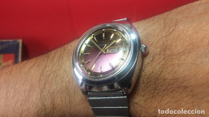 Relojes automáticos: Reloj de caballero automático ORIS del año 1975, del escaso calibre 648, un bellezón de reloj. - Foto 45 - 110062231