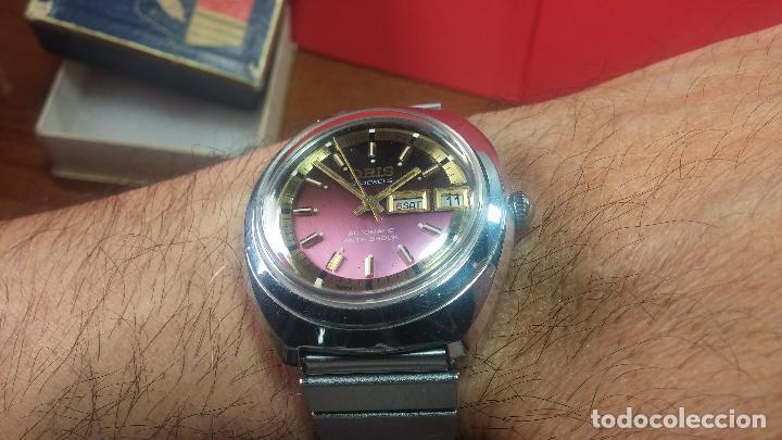 Relojes automáticos: Reloj de caballero automático ORIS del año 1975, del escaso calibre 648, un bellezón de reloj. - Foto 48 - 110062231