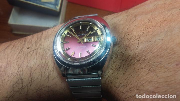 Relojes automáticos: Reloj de caballero automático ORIS del año 1975, del escaso calibre 648, un bellezón de reloj. - Foto 49 - 110062231