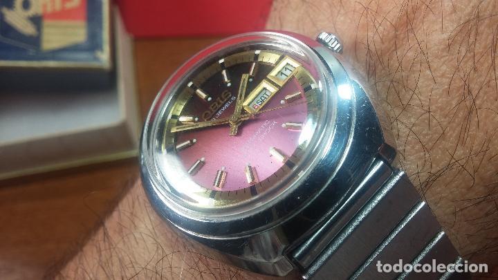Relojes automáticos: Reloj de caballero automático ORIS del año 1975, del escaso calibre 648, un bellezón de reloj. - Foto 50 - 110062231