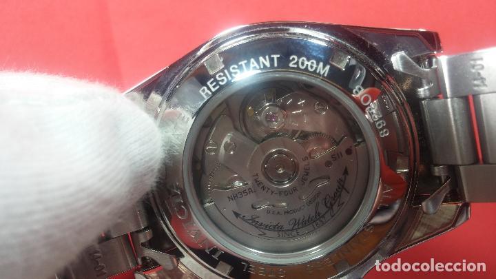 Relojes automáticos: Reloj automático de caballero Submarine INVICTA, esfera azul, como nuevo, muy bonito - Foto 99 - 111530419